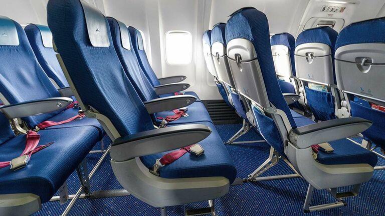 KLM economy class stoel Europese vluchten