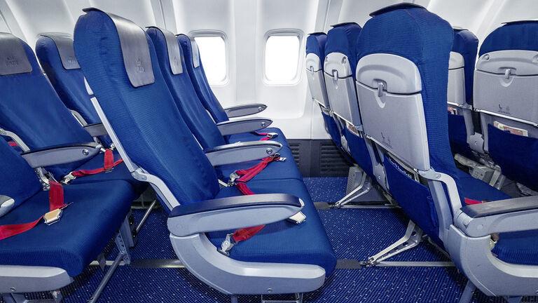 KLM economy comfort stoel Europese vluchten