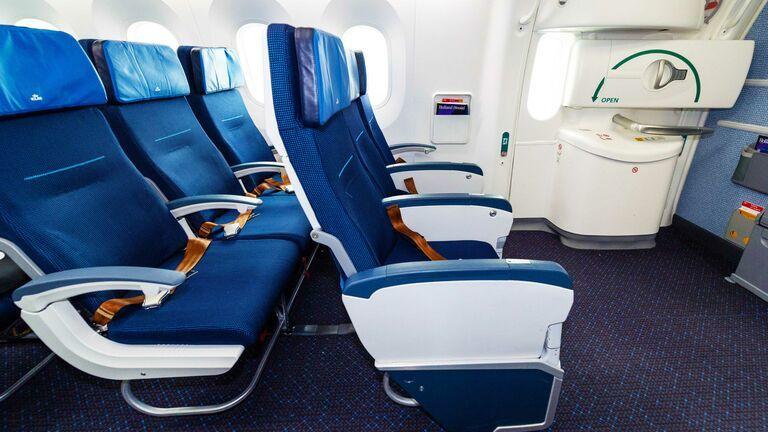 KLM extra beenruimte stoel ICA vluchten