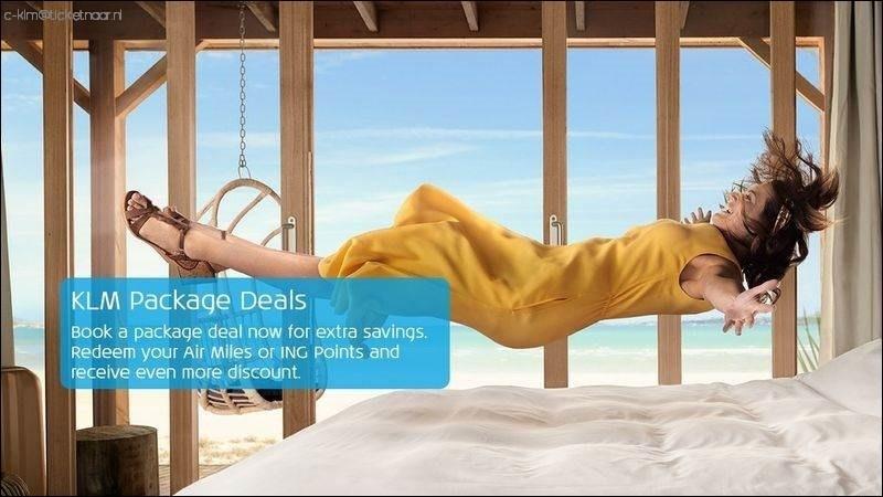 KLM package deals