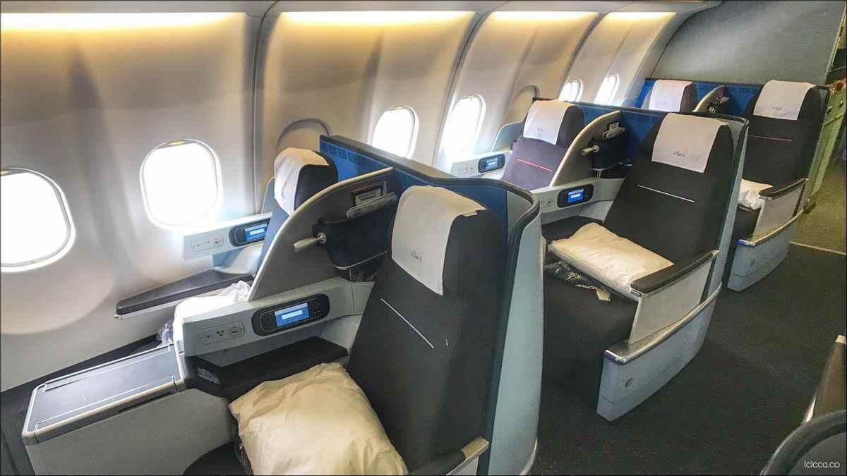 KLM stoelen reserveren