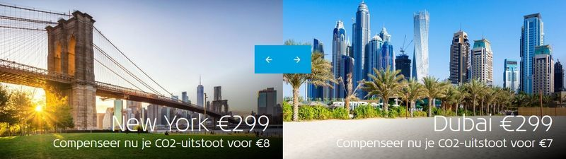 KLM Deal Van De Eeuw New York Dubai - ticket naar